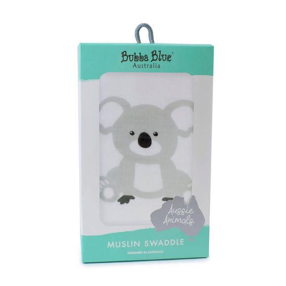 Bubba Blue Aussie Animals 'Koala' Muslin Wrap