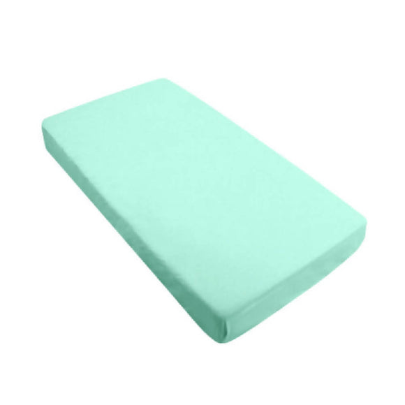 Bebe Bamboo Fitted Sheet - Mint - WERONE
