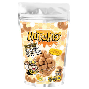 Nutchies Premium Salted Egg and Honey Butter Cashew Nuts - 100g - WERONE
