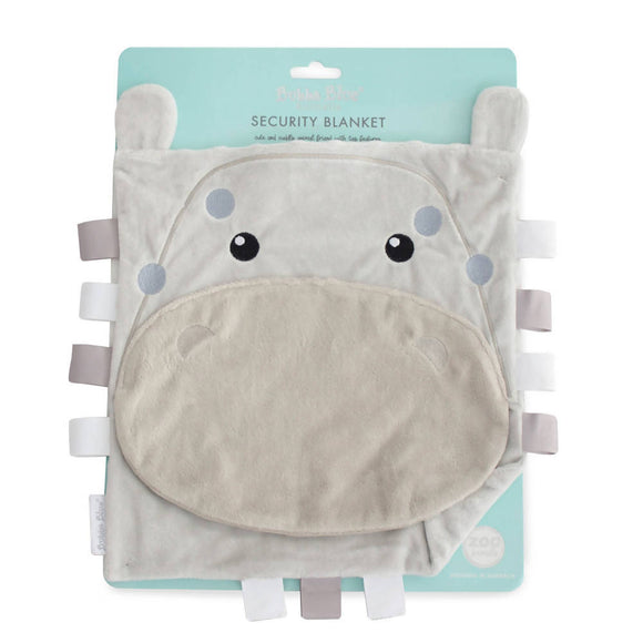 Bubba Blue Zoo Animals 'Hippo' Security Blanket - WERONE