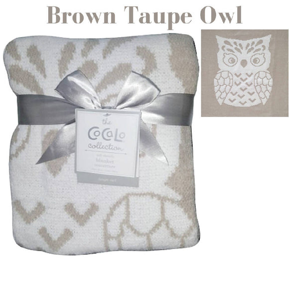 Shears Blanket Cocalo Breathable Blanket Brown Owl CBO1PC