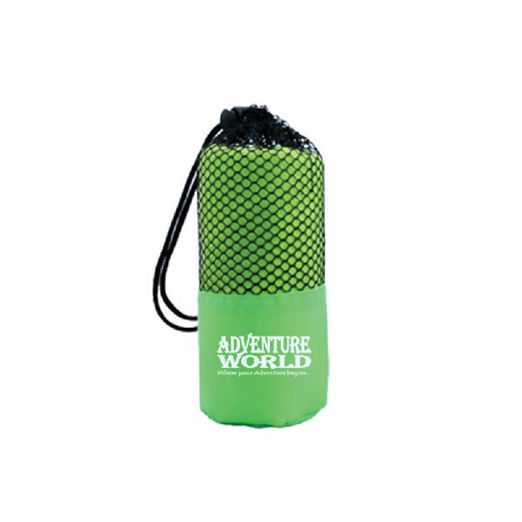Adventure World Microfibre Gym Towel (Green) - WERONE