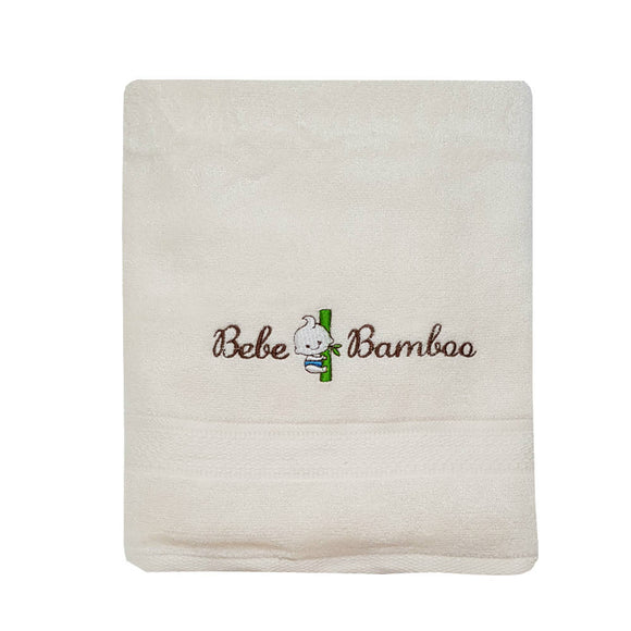 Bebe Bamboo Kids Bath Towel - Whisper White - WERONE