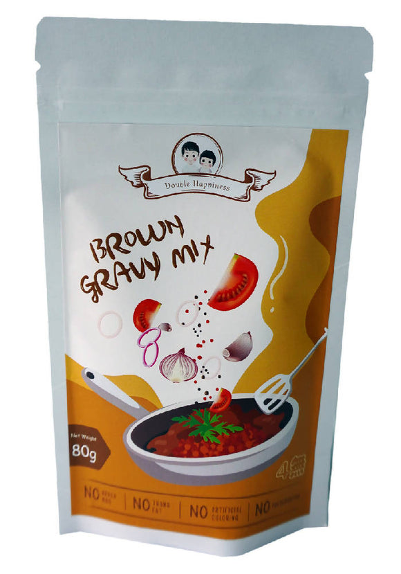 Double Happiness Brown Gravy Mix Powder