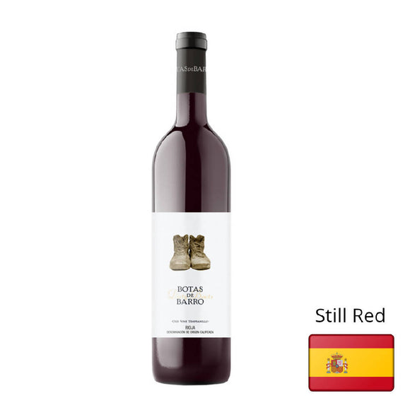 Red Wine Botas de Barro Rioja 2016 12% Spain 750ml - WERONE