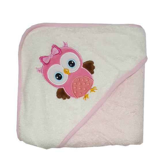 Bebe Bamboo Hooded Towel - Owl - WERONE