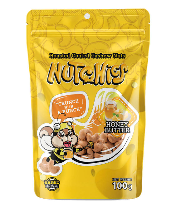 Nutchies Honey Butter 100g - WERONE