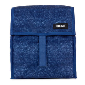 PackIt Freezable Lunch Bag, Navy Heather (NEW 2020) - WERONE
