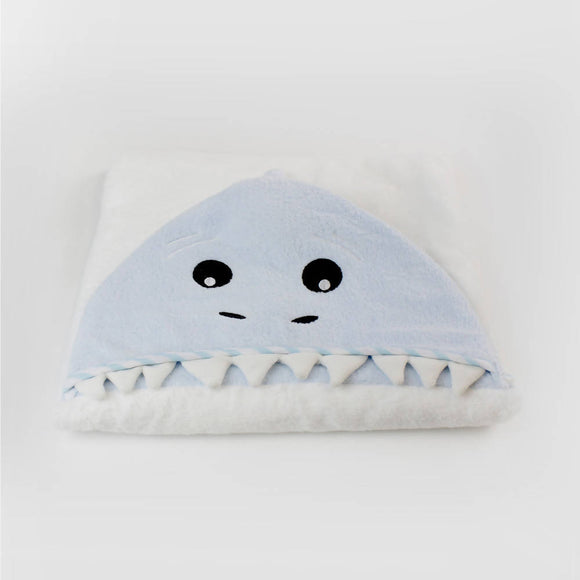 Bubba Blue Aussie Animals Novelty Hooded Bath Towel – Shark - WERONE