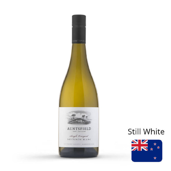 White Wine Auntsfield Single Vineyard Sauvignon Blanc 13% New Zealand 750ml - WERONE