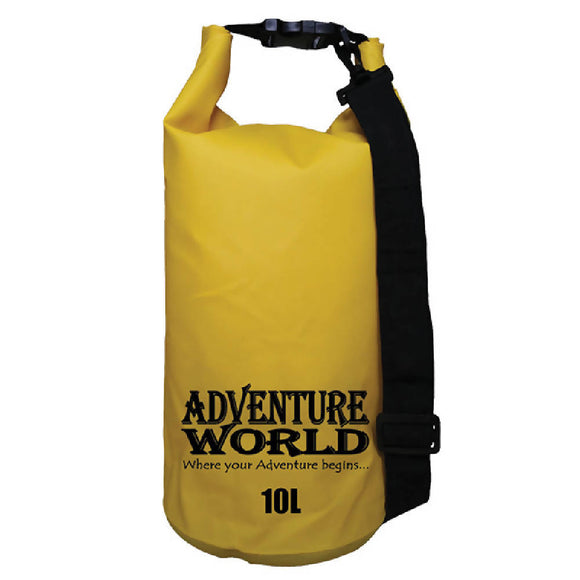Adventure World 10L Waterproof Dry Bag (Yellow) - WERONE