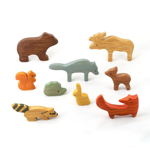 Forest Animal Toys ( 9 Items)