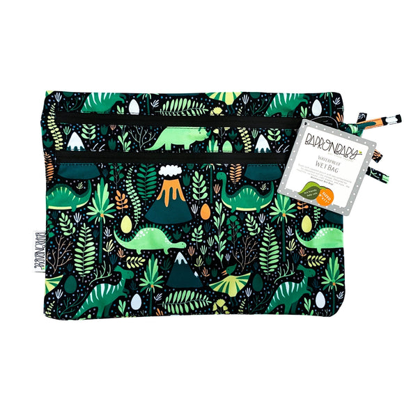 NEW! Dino Days - Waterproof Wet Bag (For mealtime, on-the-go, and more!)