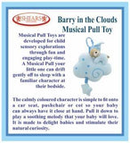 Shears PullString Barry in the Cloud Musical Toy SMPCB BLUE - WERONE