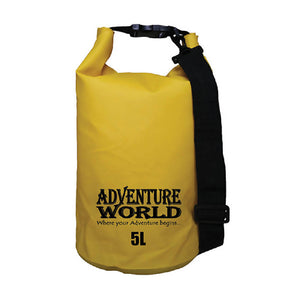 Adventure World 5L Waterproof Dry Bag (Yellow) - WERONE