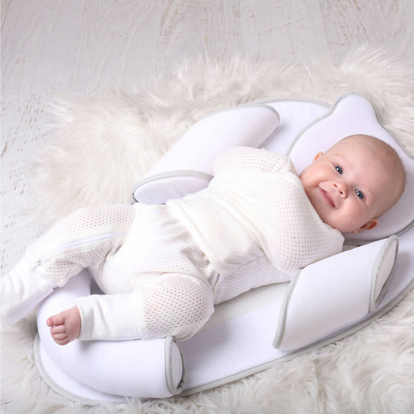 Bubba Blue Air+ Swaddle Suit White