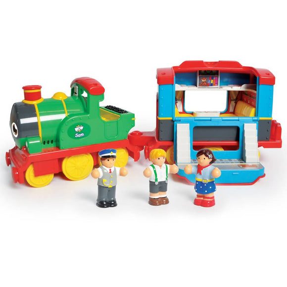 WOW Toys Sam's Steam Train - WERONE