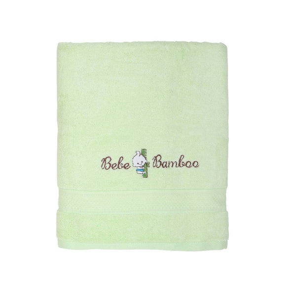 Bebe Bamboo Kids Bath Towel - Lime Cream - WERONE