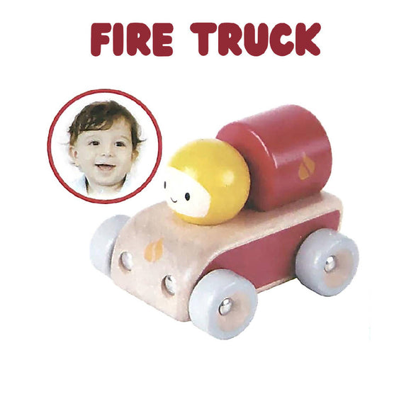 Shears Baby Toy Wooden Toy Space Car Fire Truck SWTFT