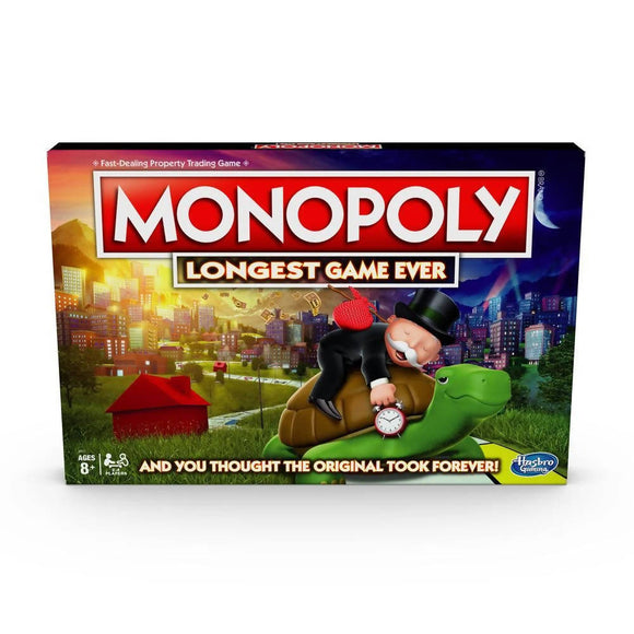 Hasbro Monopoly Longest Game Ever Board Game - WERONE