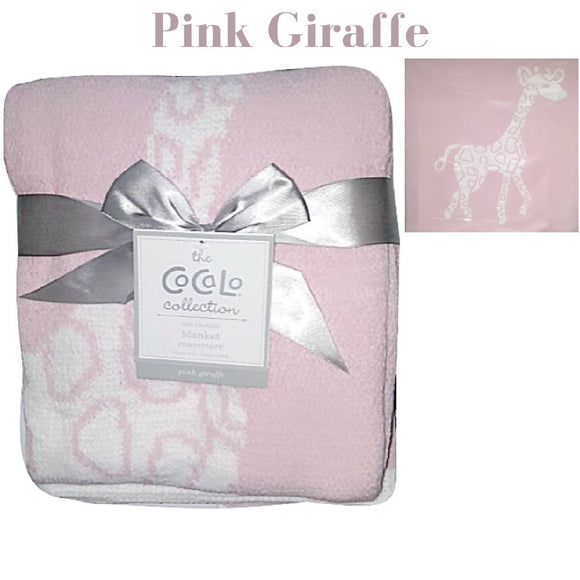 Shears Blanket Cocalo Breathable Blanket Pink Giraffe CBG1PC