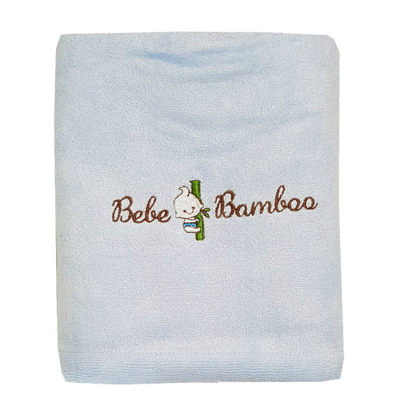 Bebe Bamboo Adult Bath Towel - Blue - WERONE