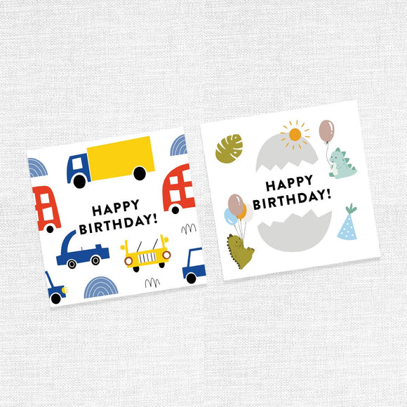 Happy Birthday Greeting Cards (For boys)