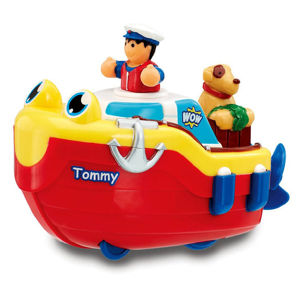 WOW Toys Tommy Tug Boat (Bath Toy) - WERONE