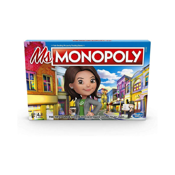 Ms. Monopoly Board Game - WERONE