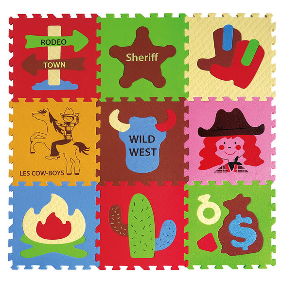 GB Puzzle Mat – Cowboys - WERONE