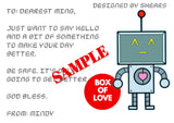Love Box A - Send a care package to your loved ones - WERONE
