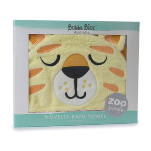 Bubba Blue Zoo Animals Novelty Hooded Bath Towel – Lion - WERONE