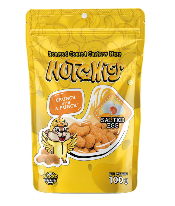 Nutchies Salted Egg 100g (Clearance Sale) - WERONE