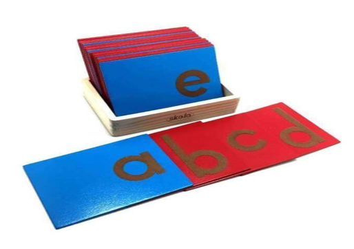 Sandpaper Alphabets Lower Case - WERONE