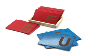 Sandpaper Alphabets Upper case - WERONE