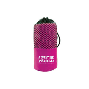 Adventure World Microfibre Gym Towel (Purple) - WERONE