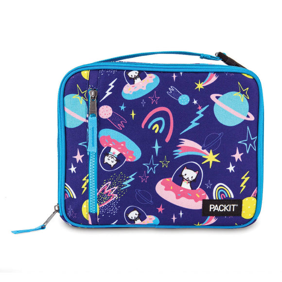 PackIt Freezable Classic Lunch Box Bag, Sweet Space (NEW 2020)