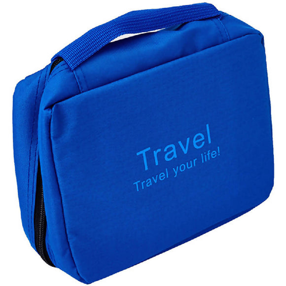 Adventure World Travel Toiletries Bag (Blue) - WERONE