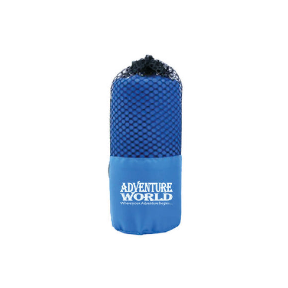Adventure World Microfibre Gym Towel (Blue) - WERONE