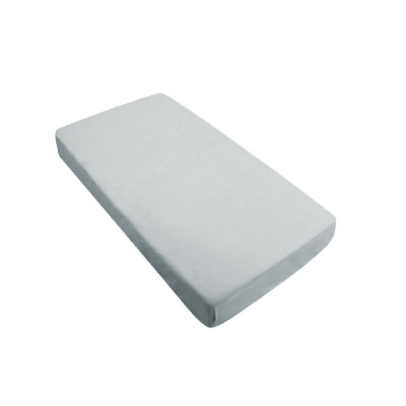 Bebe Bamboo Fitted Sheet - Grey - WERONE