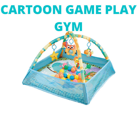 Shears Play Gym Square 4 Direction Net Game Mat Ocean Ball HS7073