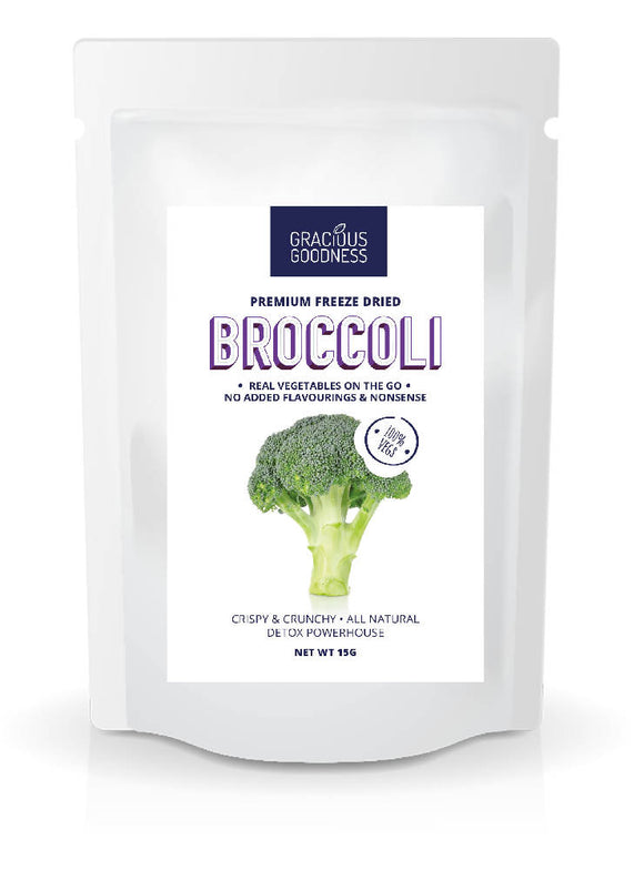 Gracious Goodness Freeze Dried Broccoli - WERONE