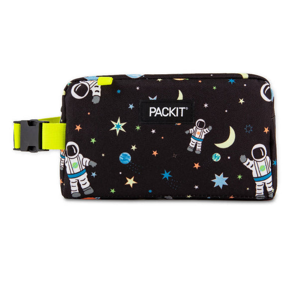 PackIt Freezable Snack Box Bag, Spaceman (NEW 2020)