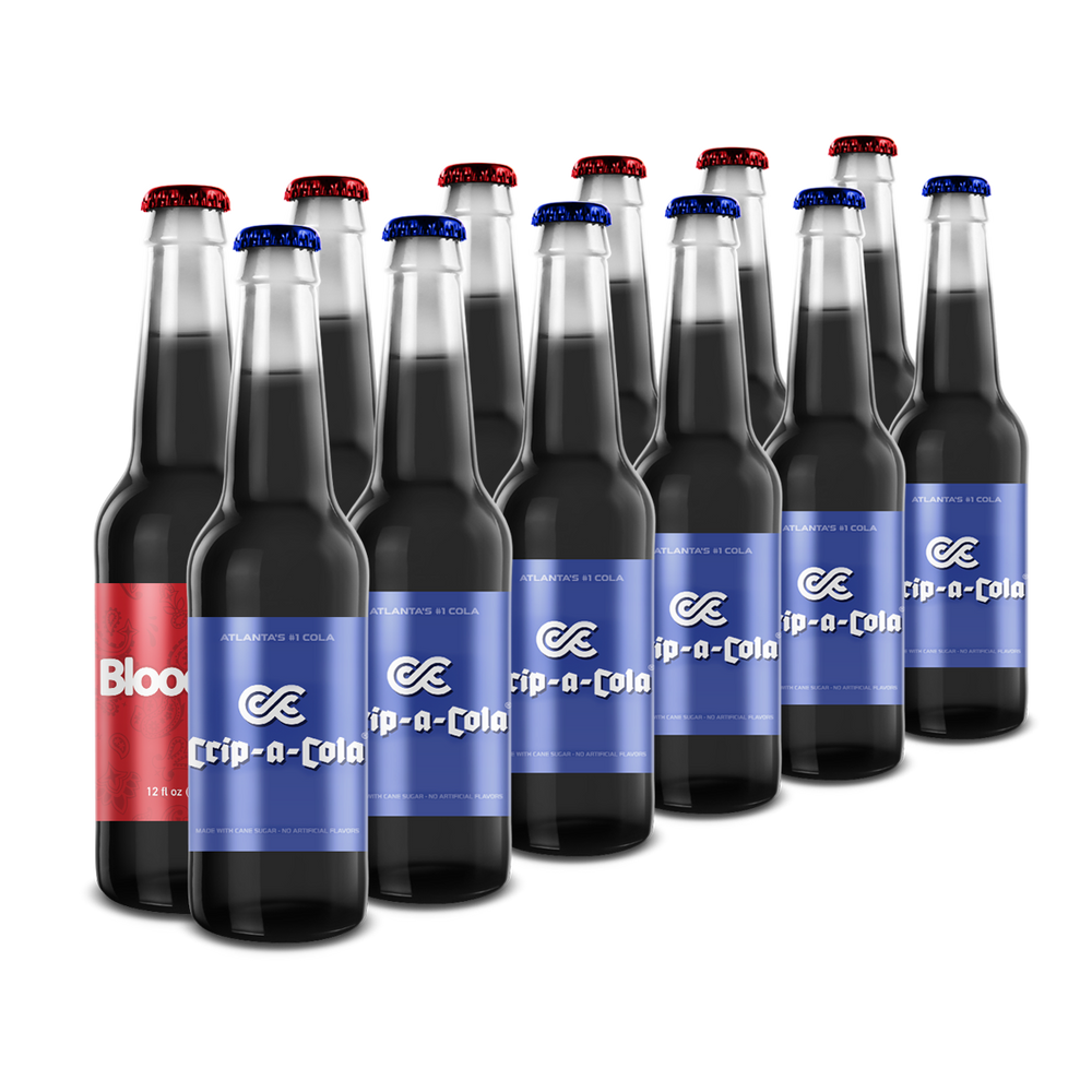 CRIP-A-COLA & BLOOD POP 12 PACK