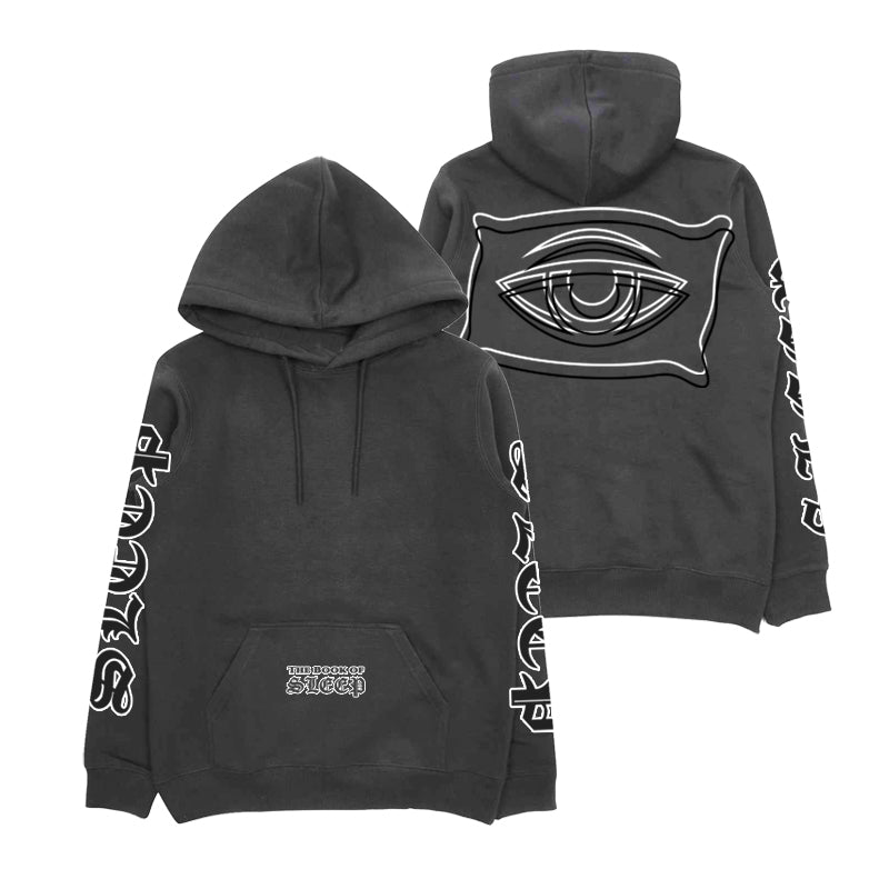 BOOK OF SLEEP HOODIE (PIGMENT BLACK)