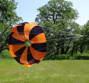 "Iris 84"" Ultra Light Parachute - 22bs @ 15fps"