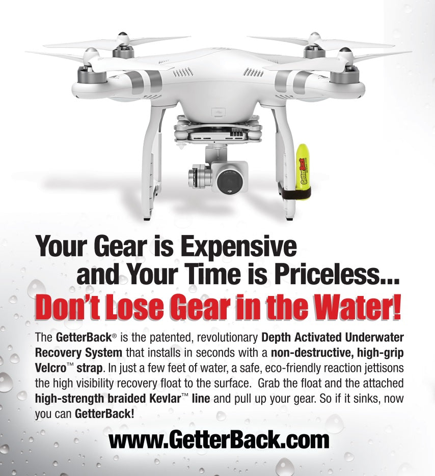 GetterBack Water Landing Recovery Device