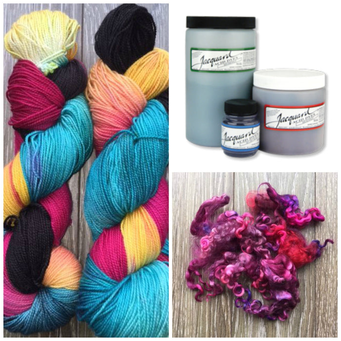 Jacquard Acid Dyes - 1/2 oz