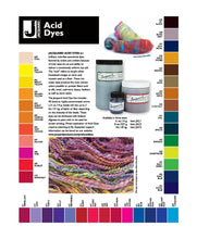 Load image into Gallery viewer, Jacquard Acid Dyes - 1/2 oz for dyeing wool, protein fibres used in felting and spinning - FREE SHIPPING when you buy 4 or more