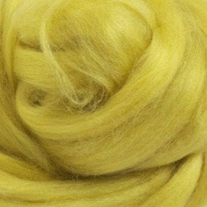 Tussah Silk (Top) Sliver - Lounge Lime Yellow - 1oz or .5oz